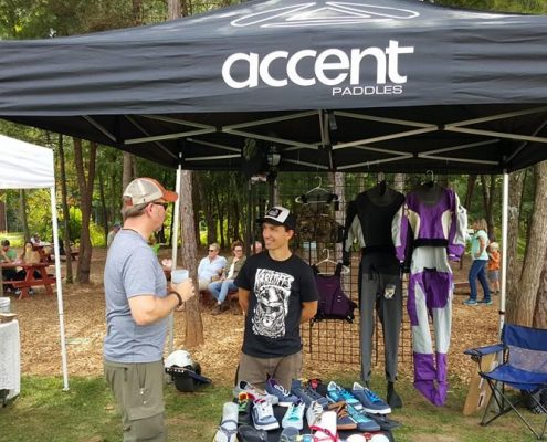 Asheville Outdoor Show 2015 Accent Tent Highland Brewing Company