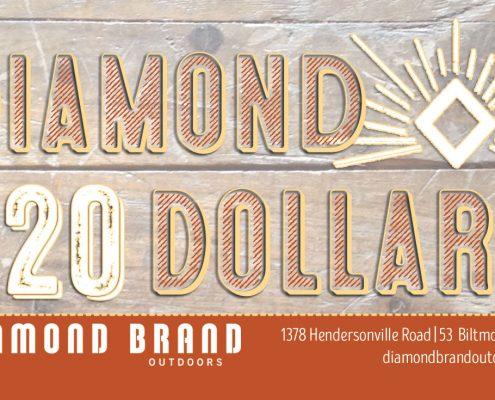 Diamond Dollars Diamond Brand Outdoors Asheville NC