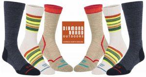 asheville hiking socks fits