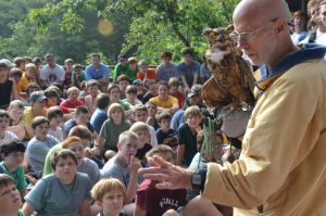 Birds of Prey Asheville Raptor Presentation