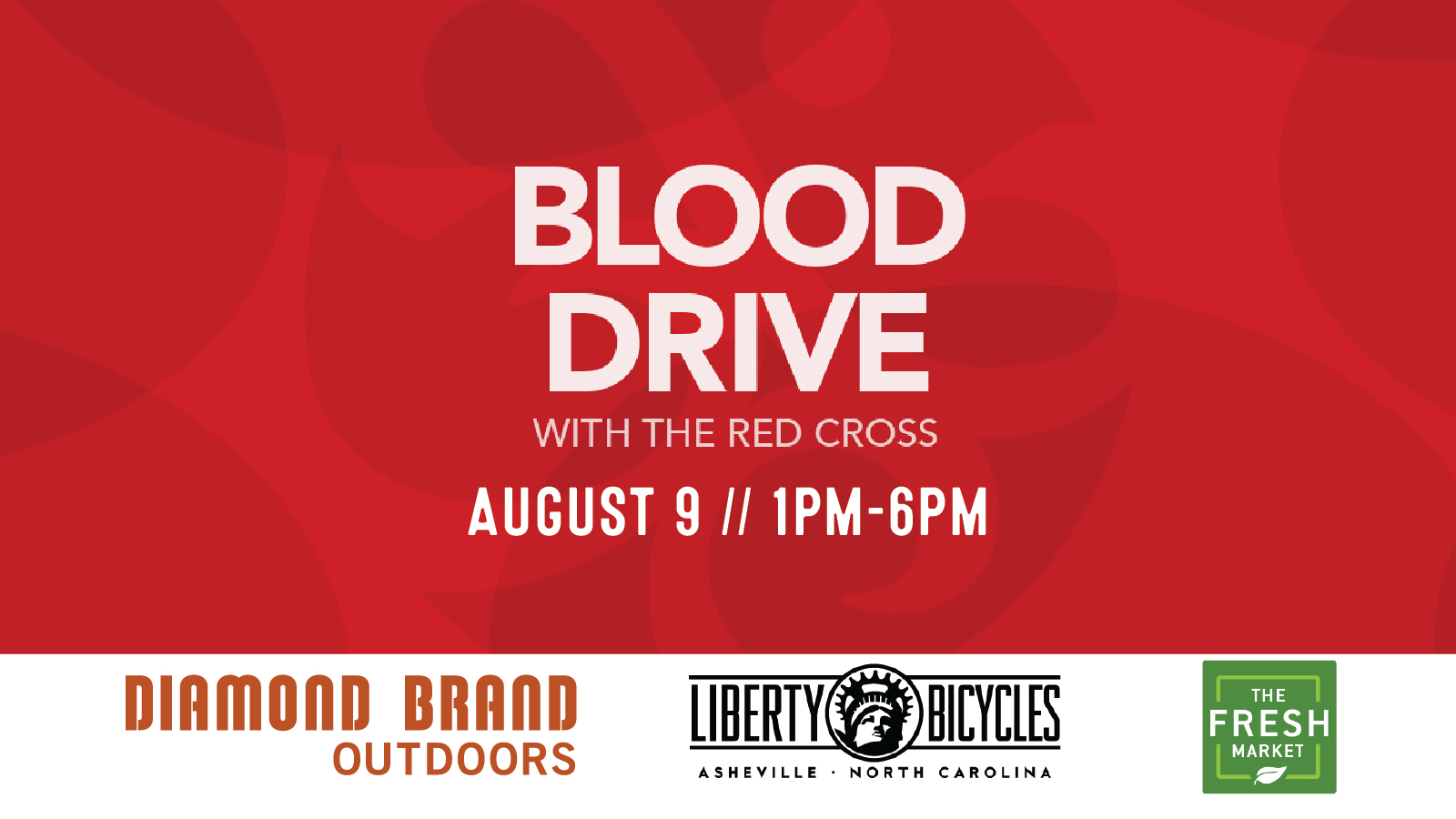 American Red Cross Blood Drive Diamond Brand Outdoors