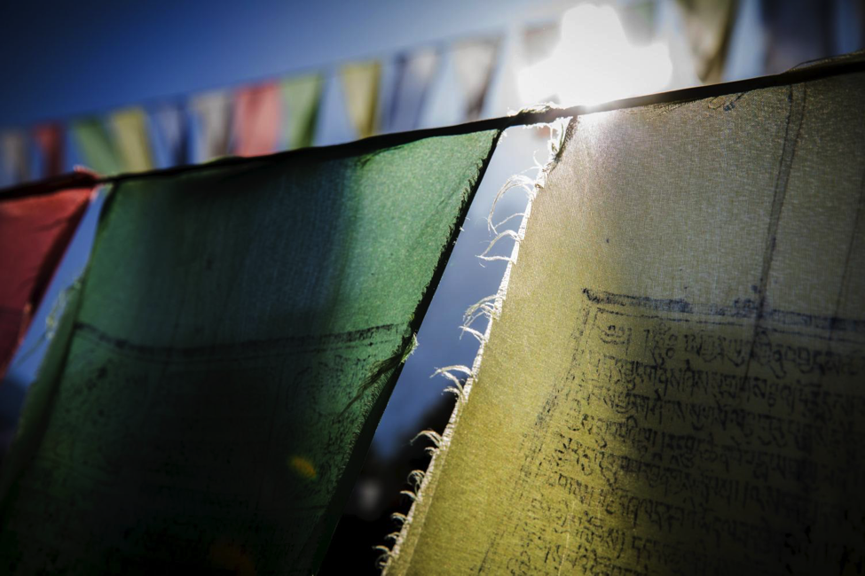 Faded Prayer Flags